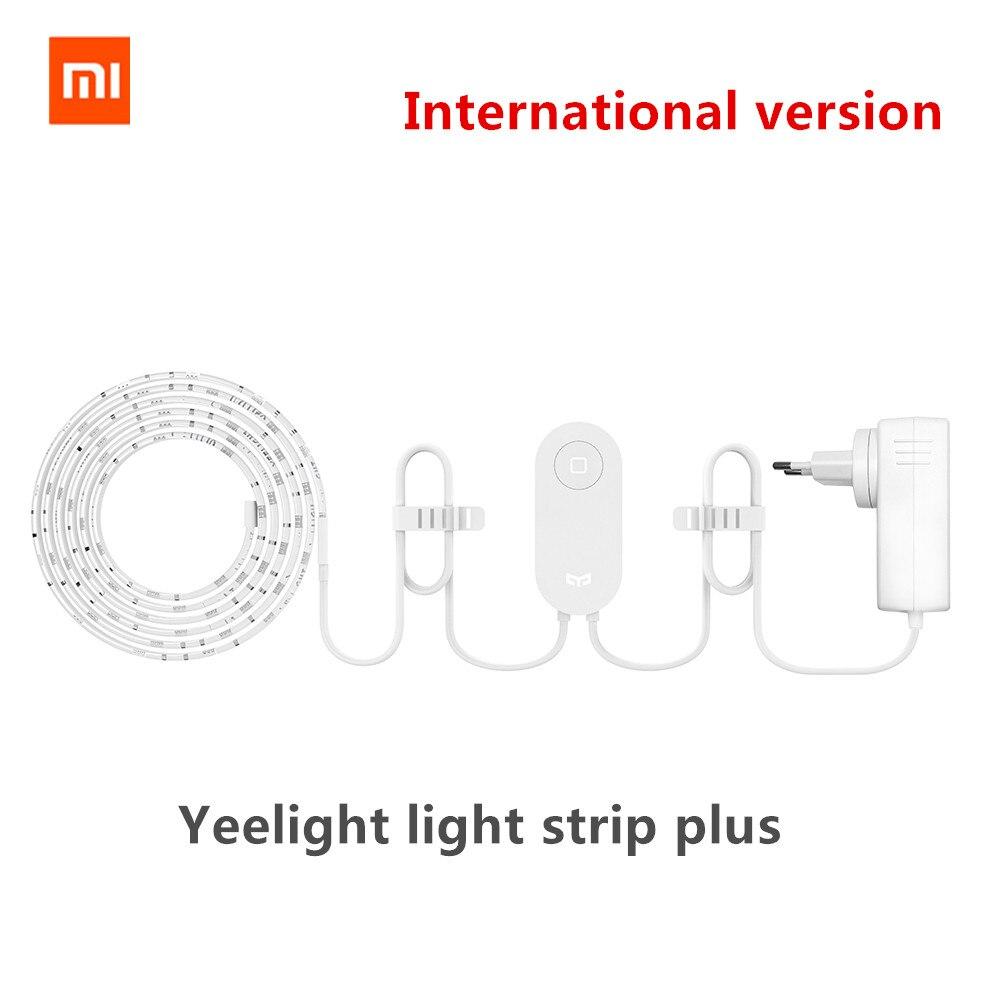 Xiao mi mi jia yeelight bande de lumière plus édition d'extension étendre jusqu'à 10 M 16 mi llion RGB mi home app version internationale