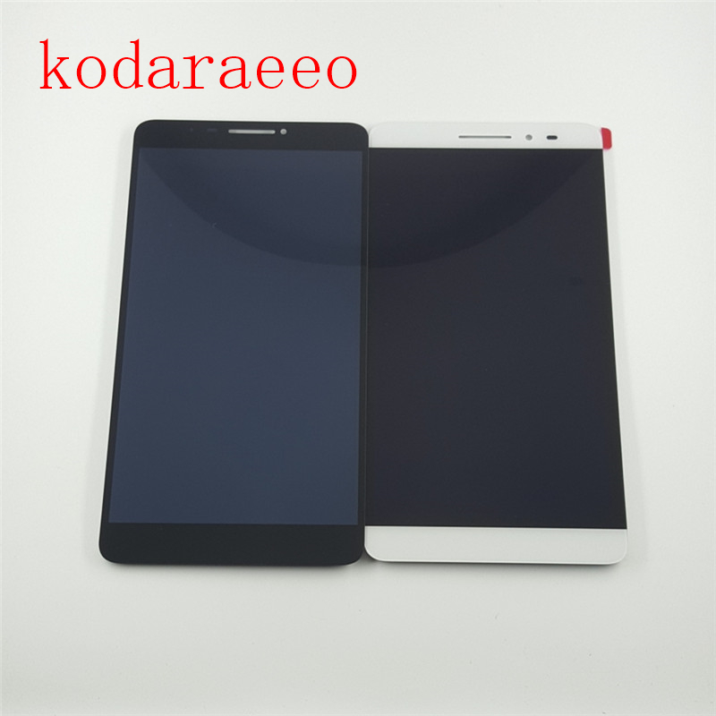 kodaraeeo For LCD Display Touch Screen Assembly Replacement For Lenovo Phab Plus PB1-770N PB1-770M PB1-770 White Black pb1 770n cover soft tpu rubber back case for lenovo phab plus pb1 770n case pb1 770m back case 6 8 inch screen tablet