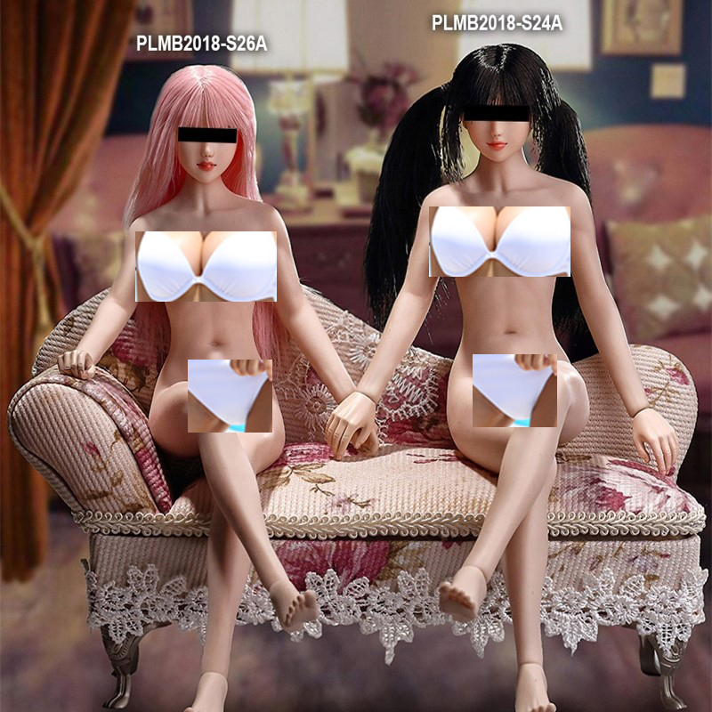 все цены на 1/6 Pale Color PHICEN TBLeague 1/6 Super Flexible Female Seamless Petite Body S24A/ 25B / 26A /27B for 12inch Action Figure