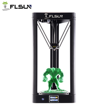 Flsun QQ 3D Printer Auto Leveling Pre-assembly Touch Screen Wifi Printing Area 260*260*370mm Power Resume Delta 3D Printer