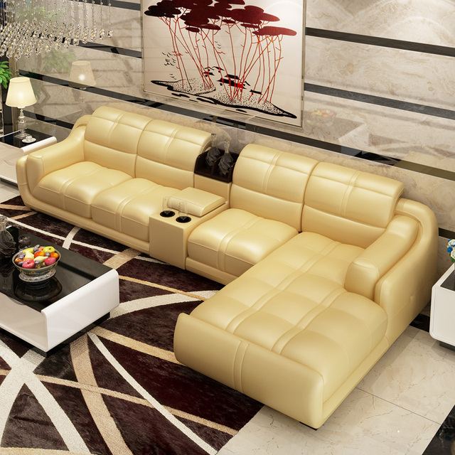 Incroyable 2014 Customized Bonded Leather Sofa Set Home Furniture #CE 302