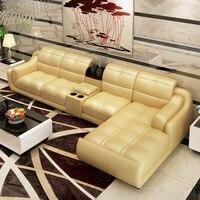 2020 customized bonded leather sofa set home furniture #CE 302