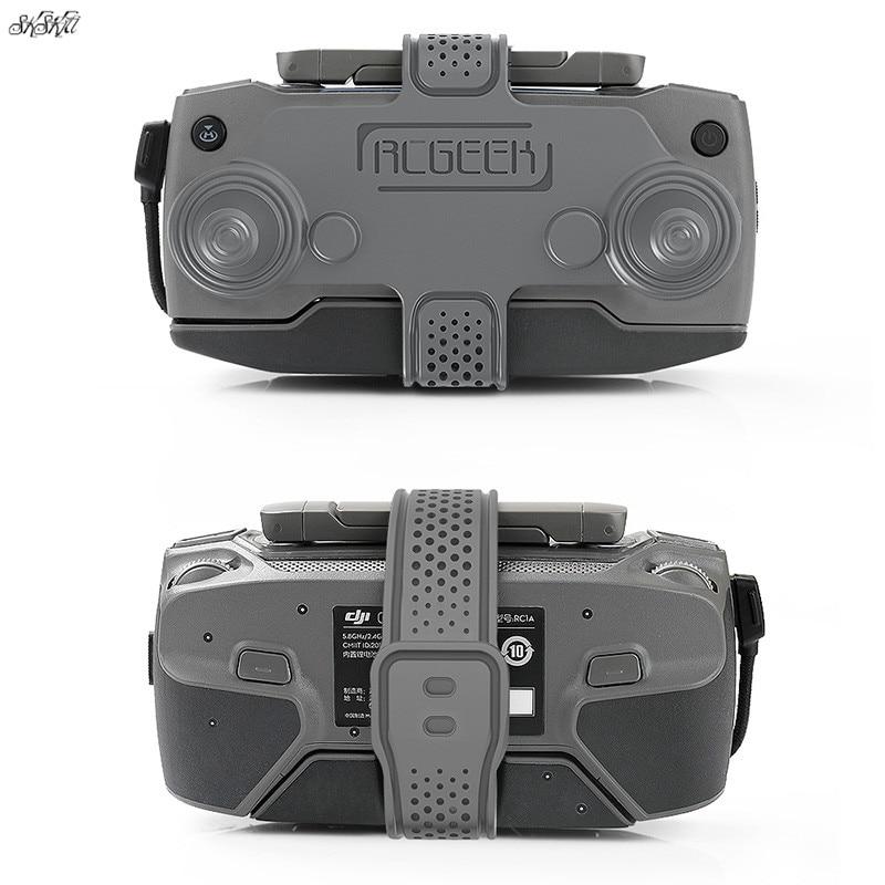 Remote Control Silicone Protective Cover Holder Strap Fixed For DJI Mavic 2 Zoom Pro Mavic Pro 1 Spark Air Mavic Mini Drone