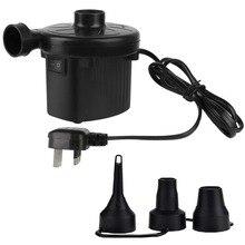 UK Plug Electric Air Pump Two-way Air Pump 220V Portable Air Mattress Pump Universal Electric Pumps