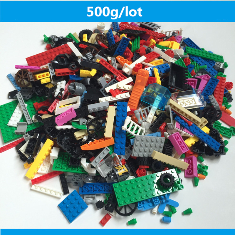 500g/bag Building Block Mix common brick technology brick Compatible with Legoe Educational Toy Multicolor toys for Children