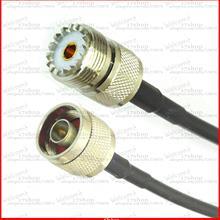 10 шт. n-штекер к разъем UHF Джек Обжимные Клещи для RG58 кабельная перемычка косичка 50 см