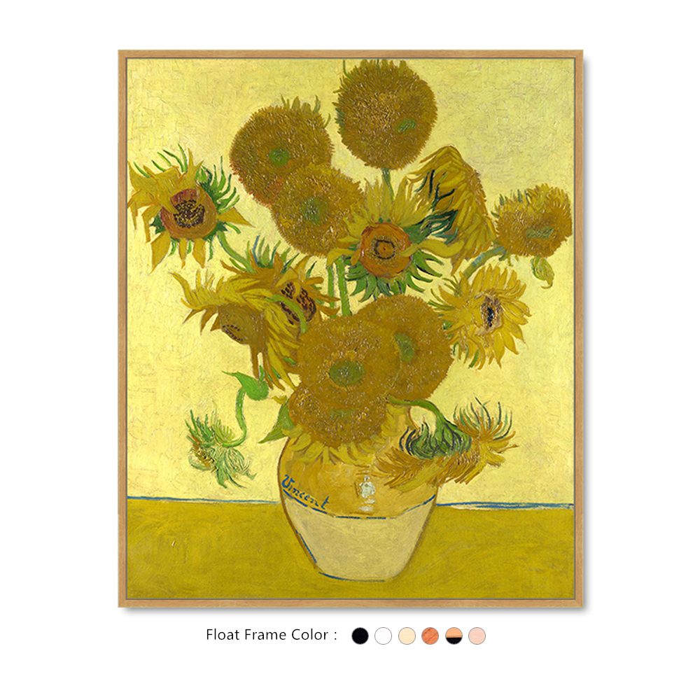 The Famous Sunflowers by Vincent van Gogh On Canvas Painting For ...