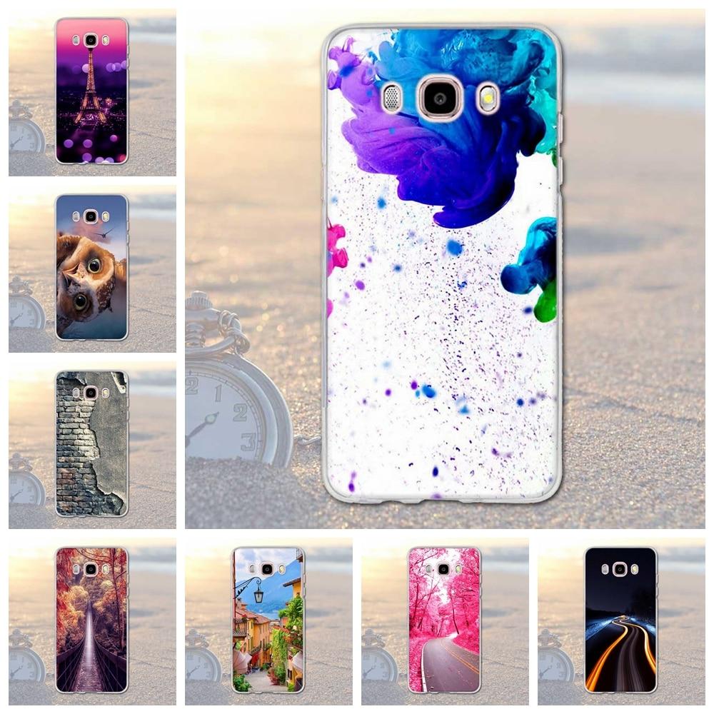 Galleria fotografica for Samsung Galaxy J5 2016 Cases Ultra Soft Silicone Landscape Case For Samsung Galaxy J5 2016 J510 J5108 J510F Case Cover Shell