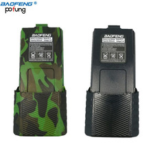 Baofeng 7.4v 3800mAh High Capacity Battery For BaoFeng UV-5R Series Walkie Talkie Two Way Radio Accessories (Black & Camouflage)