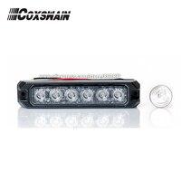 T6 Car External Warning Lights LED Grill Surface Mount Lighthead DC12V Or 24V 22 Patterns 3W
