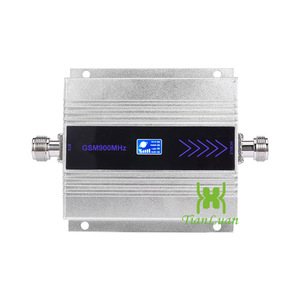 Image 2 - AMPLIFICADOR DE señal GSM para teléfono móvil, repetidor de señal GSM de 900MHz con pantalla LCD, juego completo yagi