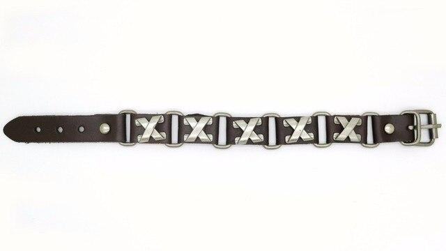 новинка 2018 ювелирное изделие x type из сплава кожаные браслеты фотография