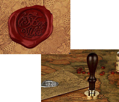 Copper Vintage Stampers Wax Seal metal head decoration stamp Wood/ Handle for you new hot anime vampire knight wax seal metal head diy scrapbooking sealing wax stamp copper head vintage gift high quality
