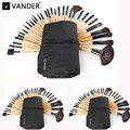Vander Professional 3Lots / 32Pcs Makeup Brushes Set Foundation Cosmetic Powder Face Toiletry Brushes Make Up Brushing Kits Bag