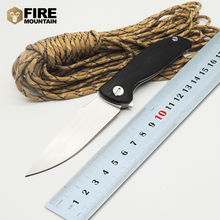 BMT F3 Tactical Folding Knife Ball Bearings Flipper 30EVO blade G10 + steel handle outdoor hunt camping knives EDC tool
