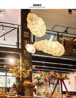 Железная сетка облако люстра пост Современная Звездная лампа креативная спальня лампа Ресторан Бар Настольная лампа кафе украшения лампы