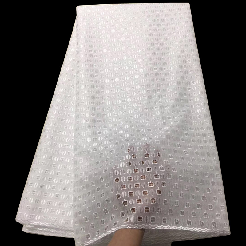 10color (5yards/pc) elegant pure white African cotton lace elegant Swiss voile lace fabric for making men and women dress CLS20310color (5yards/pc) elegant pure white African cotton lace elegant Swiss voile lace fabric for making men and women dress CLS203