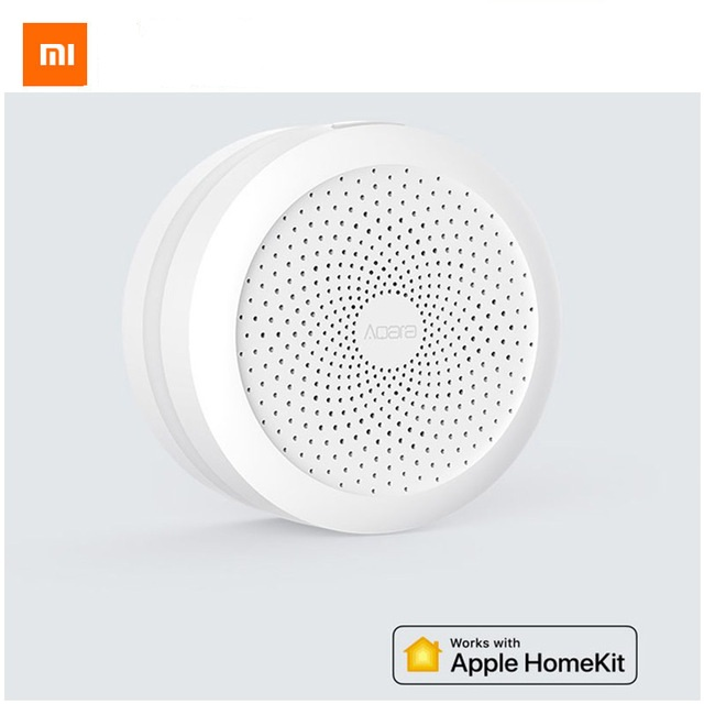 2018 Xiao mi mi jia Aqara Hub mi passerelle avec RGB LED veilleuse travail intelligent avec Apple Homekit Aqara App édition internationale