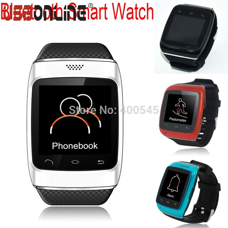 1.54 inch Anti-lost Bluetooth Smart Watch Sync Call Pedometer Bluetooth WristWatch For Samsung s4 s5 HTC Android Smart Phone dm09 smart watch wristwatch bluetooth 4