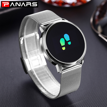 PANARS Smart Watch Men Android Waterproof Mens Digital Watches Sport Stainless Steel Watch Men Wristwatches Mens Women Watches