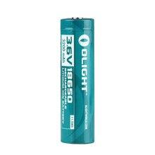 Olight ORB 186P32 3200mAh 18650 protetta batteria ricaricabile Li Ion