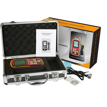 цена на Ultrasonic thickness gauge GM100 1.2-225mm(Steel) Digital LCD Ultrasonic Thickness Meter Tester Gauge 0.1mm Resolution