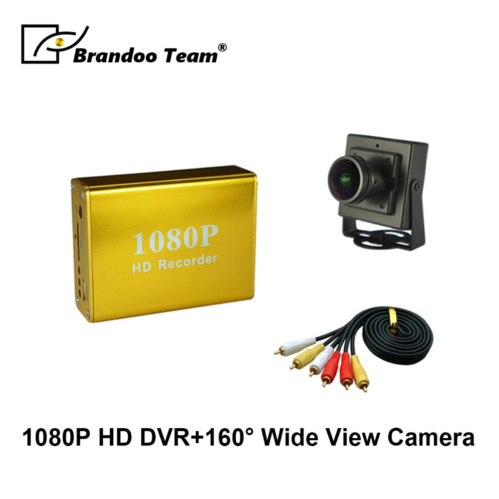 1080 P Volle HD DVR Video Recorder Kit Verwendet für Home Office Überwachung Home Security DVR Kit Unterstützung Max128GB SD karte
