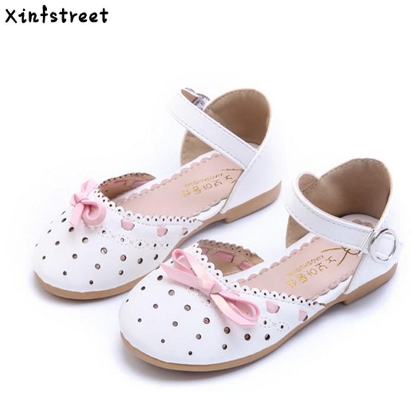 Xinfstreet Kids Girls Kingad Suurus 21-35 Hingav armas vibu lapsed Kingad printsess tüdrukud beebi sandaalid