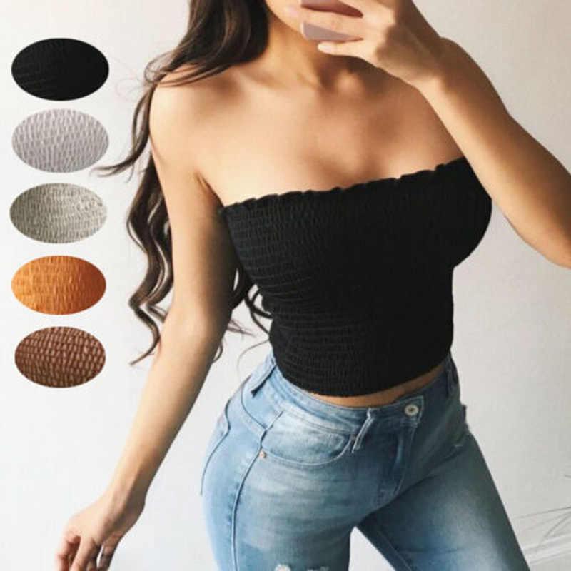 Sexy Frauen Sommer Casual Ärmelloses Shirt Crop Top Einfarbig Backless Weibliche Westen Sommer Dünne Top Frauen Shein Unterwäsche Frauen