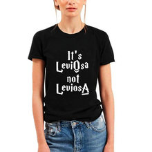 5fc009d57 It's Leviosa Not Leviosa HarryPotter Magic Tumblr Fashion Funny T-shirt  Women Harajuku Punk Tops Tee Shirt Femme