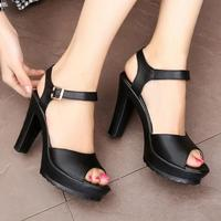 D&Henlu Summer Plus Size42 43 Shoes Woman Heel Sandals White Wedges Wedding Sandals Ladies Sandal With Heels Platform Peeps Toe