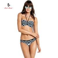 2017 Ariel Sarah Brand Hot Sale Fashion Tie Die Bikini Women Swimwear Sexy Swimsuit Hang Neck