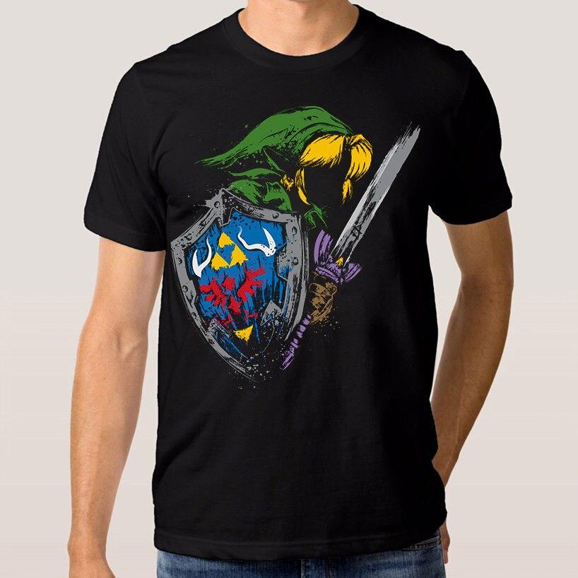 Legend of Zelda T Shirt New Cotton Tee S-3XL Men T-Shirt Clothing Plus Size top tee Fashion Design Free Shipping