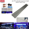 diy 60W marine aquarium diimable led aquarium lighting 20*3W Round LED aquarium lights LED Lights for marine coral reef tank