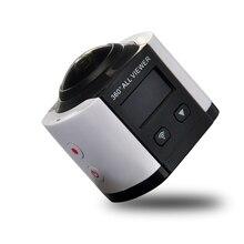 4พัน360การกระทำกล้อง2448*2448อัลตร้าHD 360กล้องพาโนรามากีฬาการขับรถ360 VRกล้อง