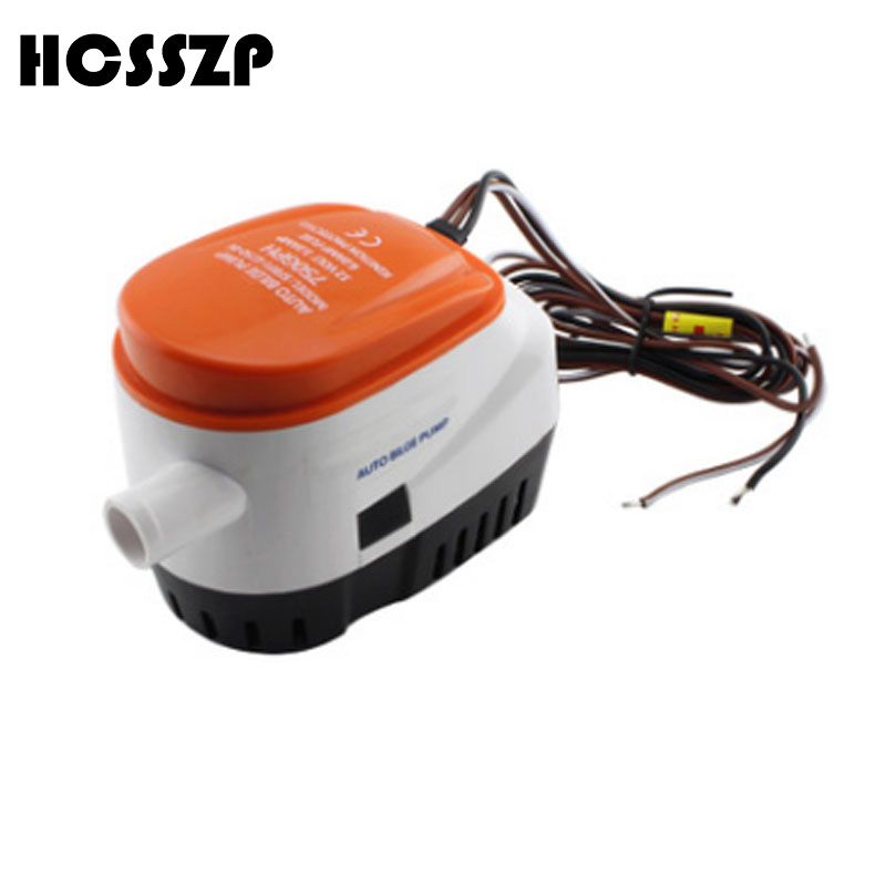 Marine Pump Boat Parts & Accessories Hcsszp Bilge Pump 750gph Dc 12v Electric Water Pump For Aquarium Submersible Seaplane Motor Homes House For Marine Boat