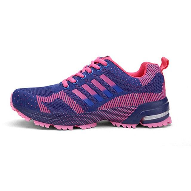 f6a64a571b7 Ultral Lumière Chaussures de Course Pour Hommes Femmes Sport Athlétique  Espadrille Respirant Maille Formation Entraînement En