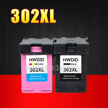 2 шт. 302XL картридж с чернилами для HP 302 картридж 302 XL использовать для HP DeskJet 2130 2135 1110 3630 3632 Officejet 3830 3834 4650 4655