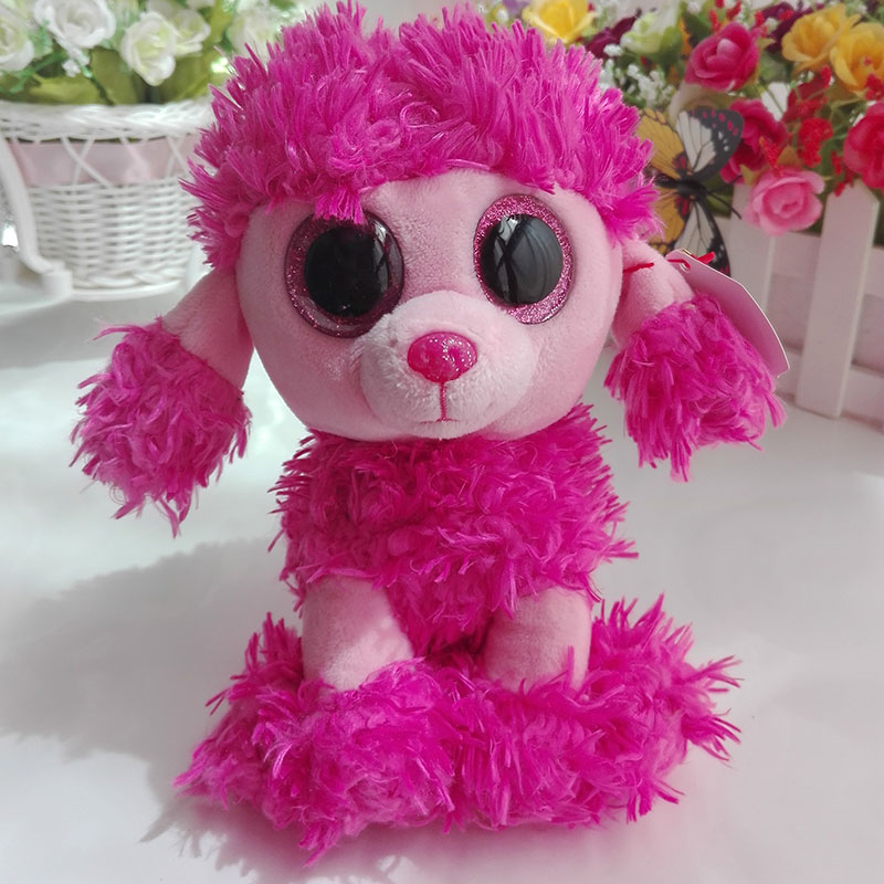 Ty Beanie Boos collection Plush Toy Patsy Pink Poodle Dog Sruffed Animal  Doll Soft Kids Toy Gift Birthday Present Hot Sale-in Stuffed   Plush  Animals from ... c839115e472b