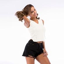 2019 New Ladies Summer Knit Bottoming Shirt Strap V-neck Sleeveless Vest