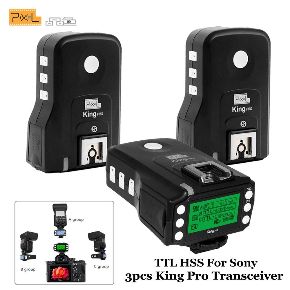 Para Sony MI Shoe Camera TTL HSS 1 / 8000S Transceptores de disparo - Cámara y foto