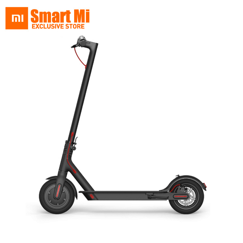 No Tax In Stock Original Xiaomi Mijia M365 Ultralight Folding Aircraft Grade Smart Electric Scooter Via Smartphone Bluetooth APP