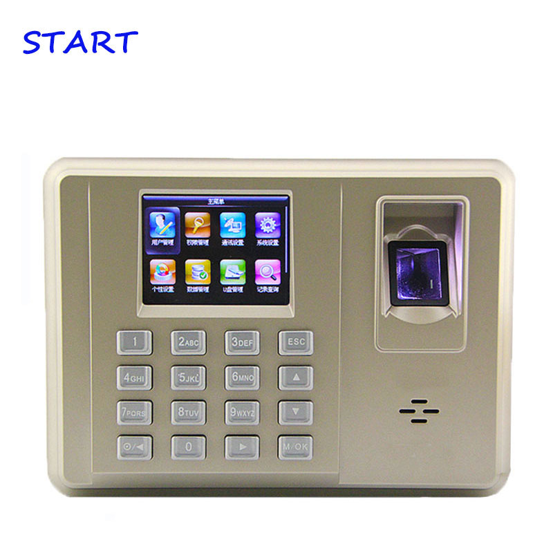 ZK TX638 3 Inch Fingerprint Time Attendance Color Screen Fingerprint Recognition With WIFI Time And Attendance System Time Clock