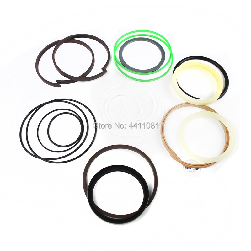For Komatsu PC56-7 Bucket Cylinder Repair Seal Kit Excavator Service Gasket, 3 month warranty fits komatsu pc150 3 bucket cylinder repair seal kit excavator service gasket 3 month warranty