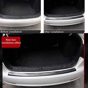 Image 4 - אוניברסלי דלת משמר פגוש גומי מגן קדמי אחורי דלת כניסת אדן שומר שפשוף צלחת עבור רוב מכוניות 100% עמיד למים DB006
