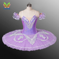 Lilac little Fairy ballet tutus Ballerina dress classical professional ballet tutu Platter performance dance ballet costume