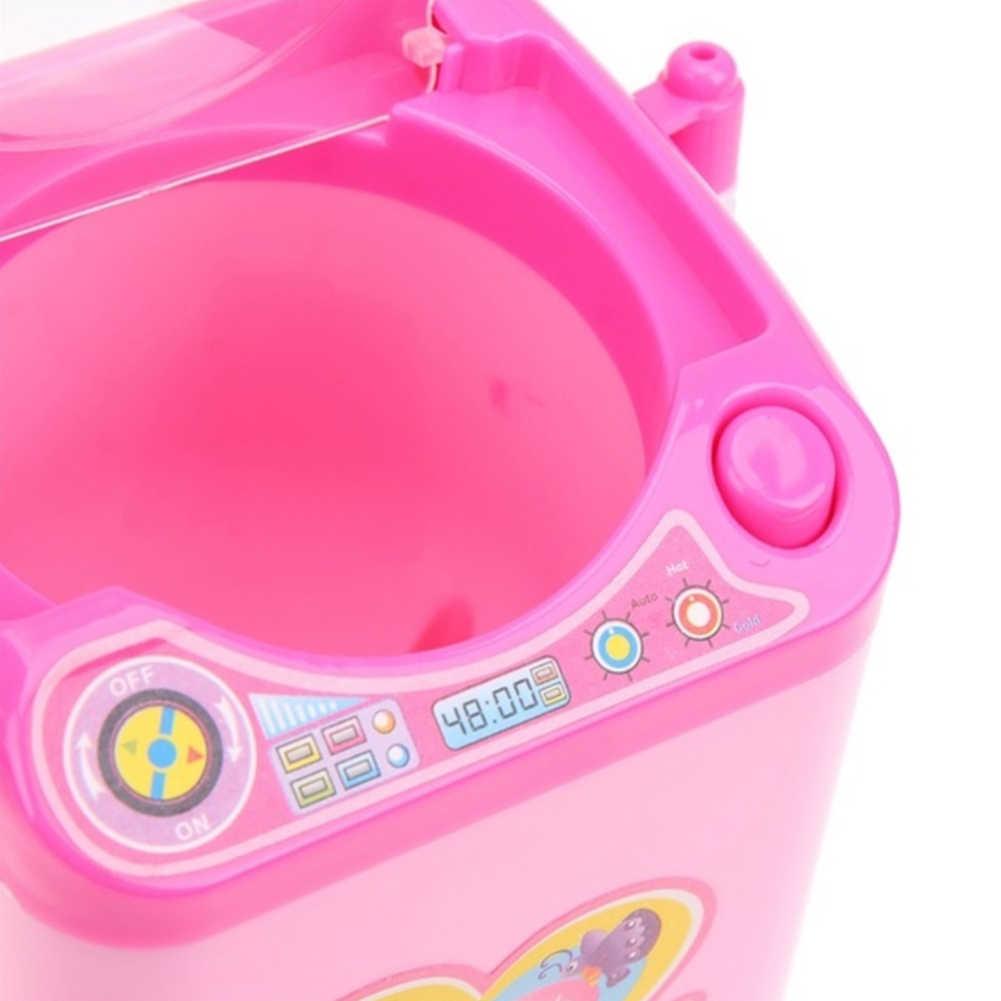 Mini Beleza Sopro de Pó Liquidificador Elétrico Máquina de Lavar Roupa Bonito Cosméticos Pincéis de Maquiagem Fundação Esponja Ferramenta de Limpeza Máquina de Lavar Roupa