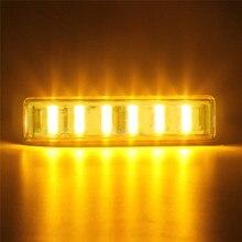 1 шт 7 дюймов Автомобильный светодиодный противотуманный фонарь светильник бар с монтажные кронштейны желтый 90W# BL35