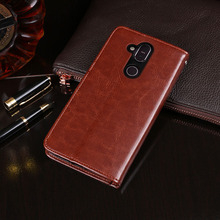 For Nokia 7.1 Plus Case Business Flip Wallet Leather Phone for Cover Capa 8.1 Accessories