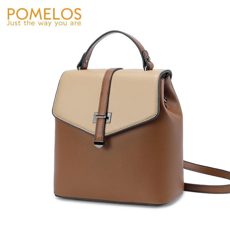 POMELOS mode sac à dos femmes haute qualité Split cuir sac à dos sac à dos femmes femme sac à dos femme voyage sac à dos filles